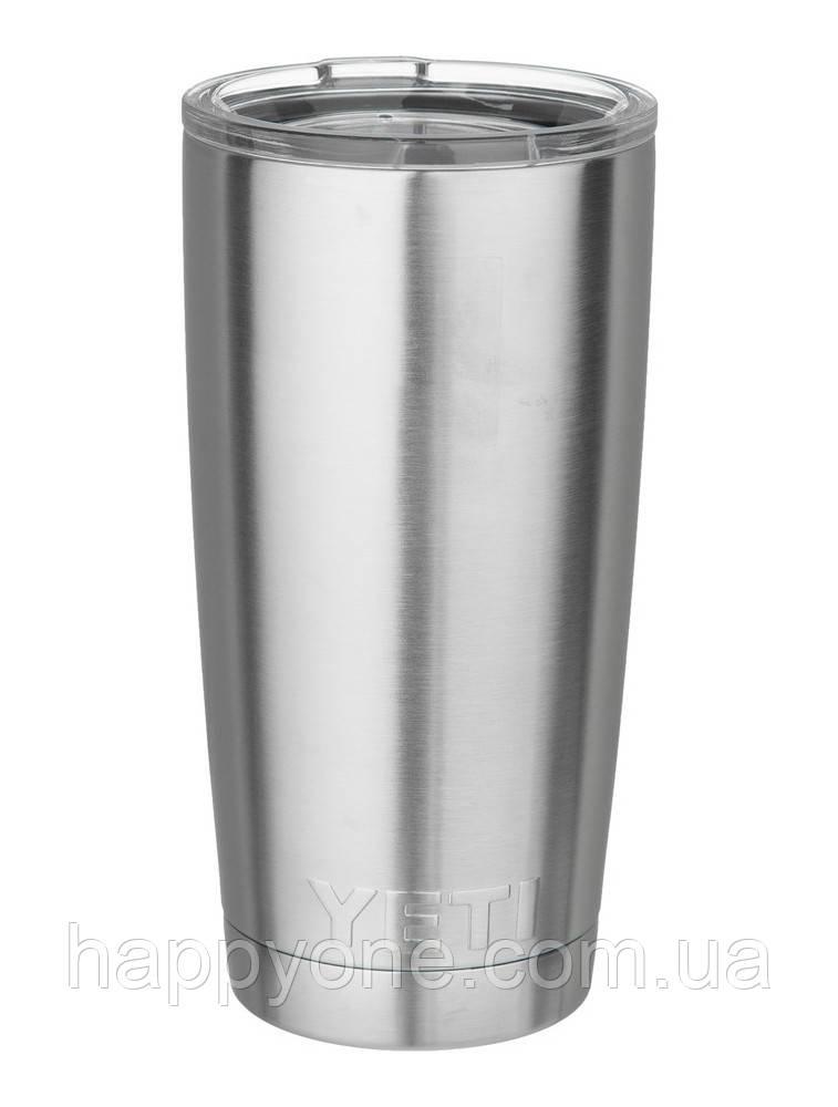 Термокружка YETI Rambler Tumbler (590 мл) сталь