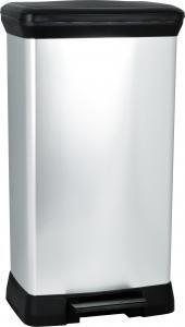 Металлический мусорный бак с педалью DECO BIN 50L