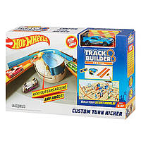 Трек Хот Вилс Гонки по Кривой Hot Wheels Track Builder Custom Curve Kicker Playset