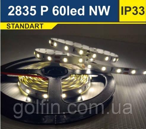 Светодиодная лента SMD2835 60d/m IP33 (NW)