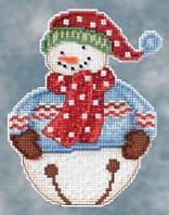 Набор для вышивки Jingle Snowbell  Mill Hill