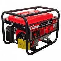Генератор бензиновый макс мощн. 2,4 кВт., ном. 2,2 кВт., 5,5 л.с., ручной пуск 40,7 кг. INTERTOOLDT-1122