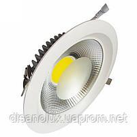Светодиодный светильник Downlight DL-30Q  LED COB  30w 6000K 220v, фото 2