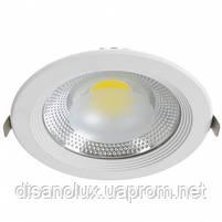 Светодиодный светильник Downlight DL-30Q  LED COB  30w 6000K 220v, фото 3