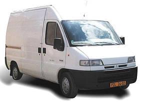 Лобовое стекло на Citroën Jumper, Fiat Ducato, Peugeot Boxer (1994-2006)