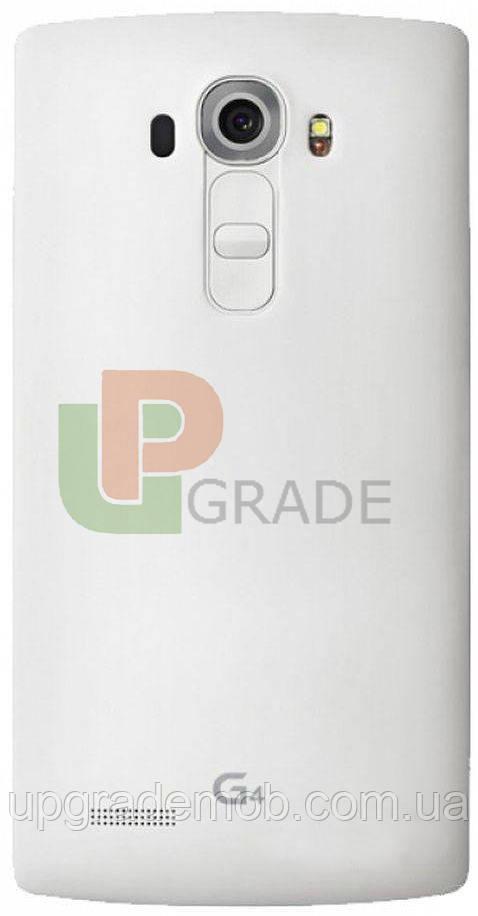 Задняя крышка LG H810 G4/H811/H812/H815/H818/F500/LS991/VS986 белая Ceramic White оригинал