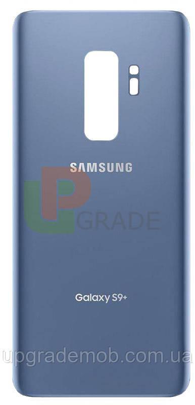 Задня кришка Samsung G965F Galaxy S9 Plus, блакитна, Coral Blue, оригінал