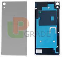 Задняя крышка Sony F3211 Xperia XA Ultra/F3212/F3213/F3215/F3216, серая, оригинал (Китай)