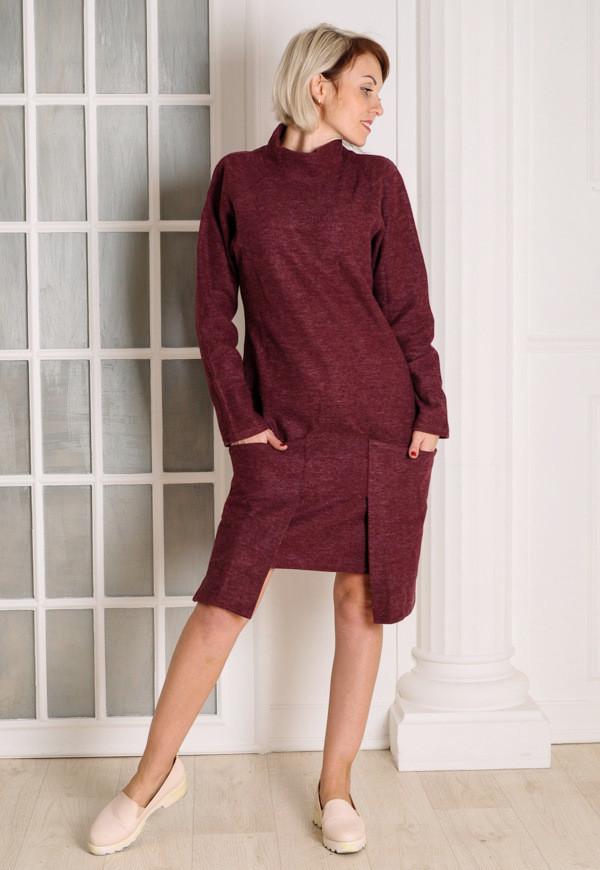 Женское платье  бордо MilaVa размер 40-46