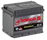 Автомобильный аккумулятор A-MEGA PREMIUM (M5) 6ст - 60 Ah 600 A (+слева)