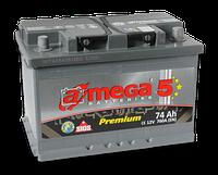 Автомобильный аккумулятор A-MEGA PREMIUM (M5) 6ст - 74 Ah 760 A (+справа)