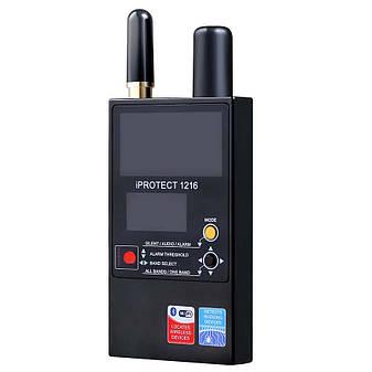 IProtect 1216 - детектор для обнаружения скрытых жучков, прослушки, видеокамер, фото 2