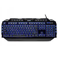 ➨Игровая клавиатура CROWN СМК-5020 USB с LED подсветкой 10 мультимедийных клавиш