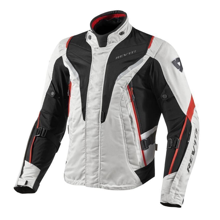 Мотокуртка Revit Vapor р. XL silver\red