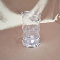 Ваза стеклянная цилиндрическая  14,5см прозрачная (41103.001)