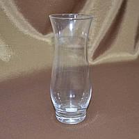 Ваза стеклянная тюльпан 17см прозрачная (41108.001)