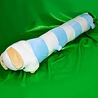 Подушка Такса бело-голубая