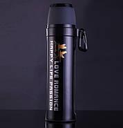 Термос Passion с карабином (550 мл) черный, фото 2