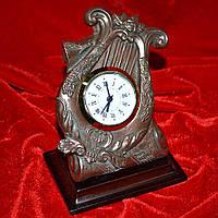 Часы настольные латунные лира (44003.002)
