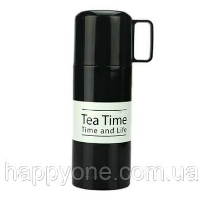Термос TEA TIME (350 мл) черный