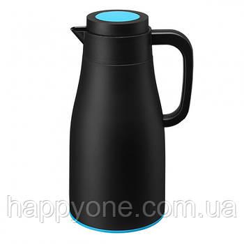 Термос Evo-Dewar PO Selected 1 л (черный-голубой)