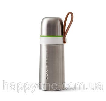 Термос стальной Thermo Flask Black+Blum (сталь-зеленый)
