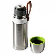 Термос стальной Thermo Flask Black+Blum (сталь-зеленый), фото 5