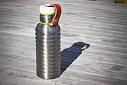 Термо фляга стальная малая Black+Blum (сталь-зеленый), фото 3