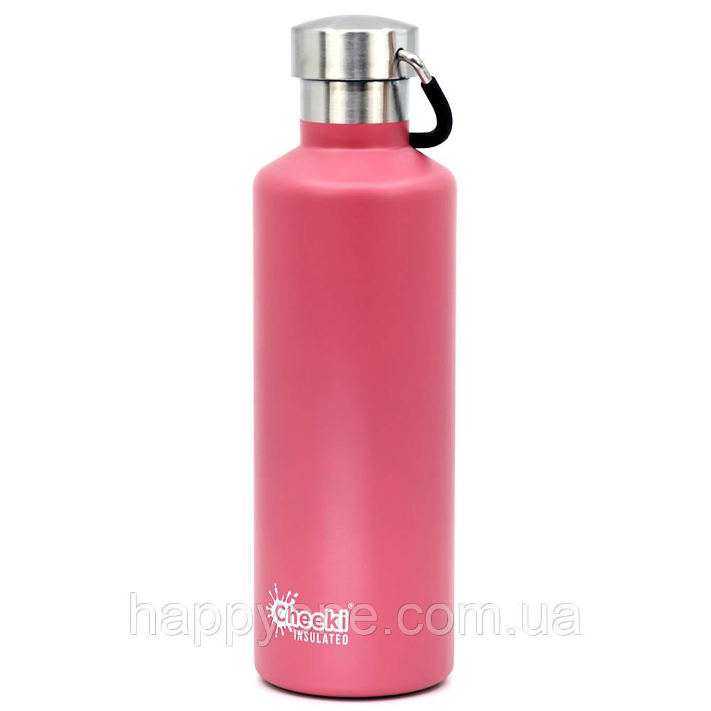 Термобутылка Cheeki Classic Insulated Pink (600 мл)
