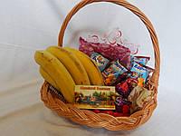 Фруктовая подарочная корзина, фото 1