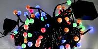 Гирлянда ЖЕМЧУГ (STRING) 100 LED ЦВЕТНАЯ , фото 1
