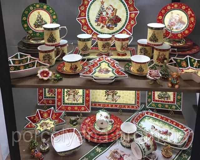 ноговодняя посуда и декор