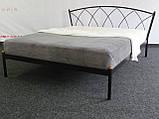 Кровать металлическая Жасмин  1/ Jasmine двуспальная 160 (Метакам) , фото 4