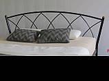 Кровать металлическая Жасмин  1/ Jasmine двуспальная 160 (Метакам) , фото 5