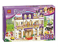 "Конструктор Bela Friends 10547 ""Гранд-отель в Хартлейке"" (аналог LEGO Friends 41101), 1585 дет"