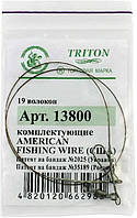 Поводок Triton 45sm 8kg 1х19 (13800130)