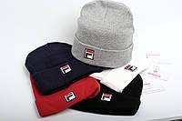 Брендовая шапка FILA F