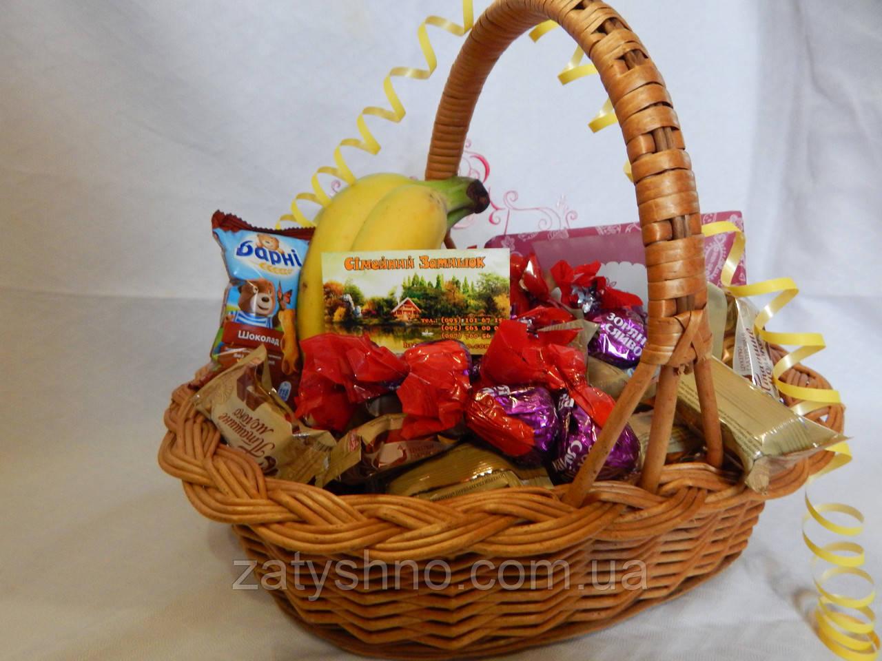 Плетеные корзины под сладкое