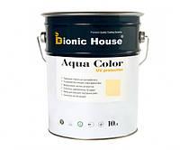 Краска для дерева Bionic-House Aqua Color UV-protect 10л Слоновая кость А102