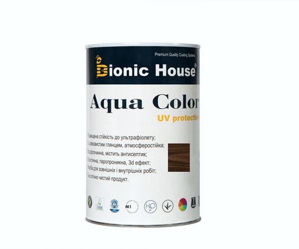 Краска для дерева Bionic-House Aqua Color UV-protect 0,8л Палисандр А111