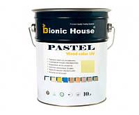 Краска для дерева PASTEL Wood Color Bionic-House 10л Фисташковый Р211