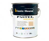Краска для дерева PASTEL Wood Color Bionic-House 10л БейлисР204