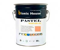 Краска для дерева PASTEL Wood Color Bionic-House 10л Коралл Р206