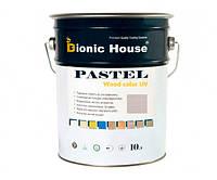 Краска для дерева PASTEL Wood Color Bionic-House 10л Грей Р217