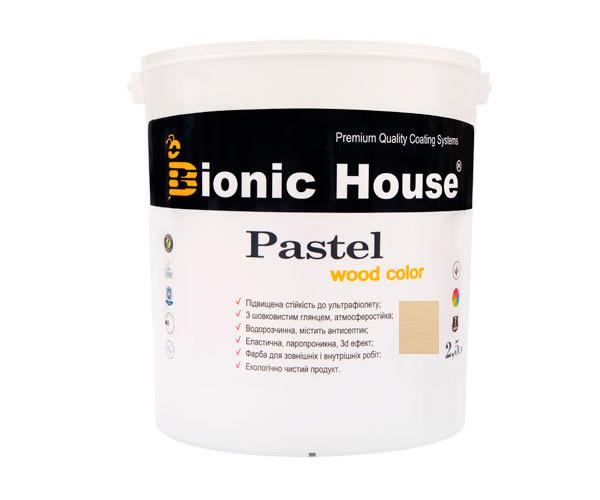 Краска для дерева PASTEL Wood Color Bionic-House 2,5л БейлисР204