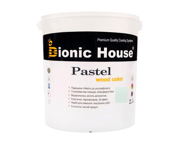 Краска для дерева PASTEL Wood Color Bionic-House 2,5л Мальдивы Р215