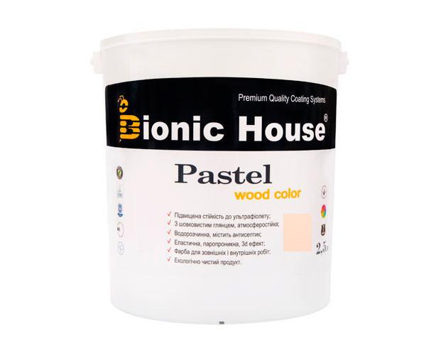 Краска для дерева PASTEL Wood Color Bionic-House 2,5л Зефир Р205