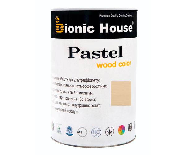 Краска для дерева PASTEL Wood Color Bionic-House 0,8л БейлисР204