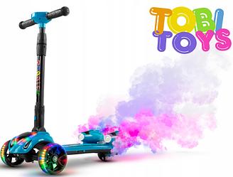Трехколесный электросамокат Tobi Toys