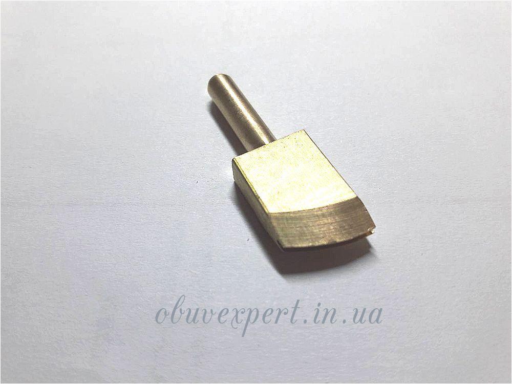 Насадка для паяльника латунная П-образной формы 2 мм для обработки уреза